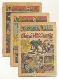 Golden Age (1938-1955):Religious, Heroes All Catholic Action Illustrated Group (Heroes All Co.,1945-46) Condition: FR. Included here are the following issues...(Total: 4 Comic Books Item)