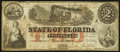 Tallahassee, FL- State of Florida $2 Jan. 1, 1864 Cr. 39 Very Fine
