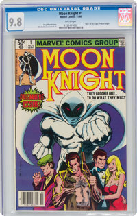 Moon Knight #1 (Marvel, 1980) CGC NM/MT 9.8 White pages