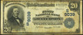 Jefferson, GA - $20 1902 Plain Back Fr. 652 The First National Bank Ch. # (S)9039 Fine-Very Fine