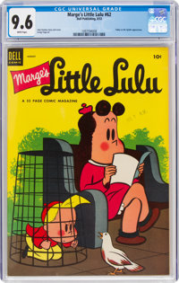 Marge's Little Lulu #62 (Dell, 1953) CGC NM+ 9.6 White pages