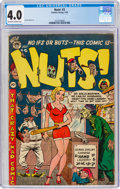 Golden Age (1938-1955):Humor, Nuts! #3 (Premiere Comics Group, 1954) CGC VG 4.0 Off-white to white pages....