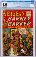 Golden Age (1938-1955):Humor, Sergeant Barney Barker #1 (Atlas, 1956) CGC FN 6.0 Off-white to white pages....