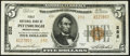 National Bank Notes:Pennsylvania, Pittsburgh, PA - $5 1929 Ty. 2 The First National Bank Ch. # 252 Very Fine-Extremely Fine.. ...