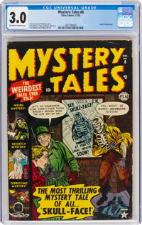 Mystery Tales #6 (Atlas, 1952) CGC GD/VG 3.0 Off-white to white pages