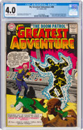 Silver Age (1956-1969):Superhero, My Greatest Adventure #80 (DC, 1963) CGC VG 4.0 Off-white to white pages....