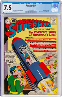 Superman #146 (DC, 1961) CGC VF- 7.5 Off-white pages