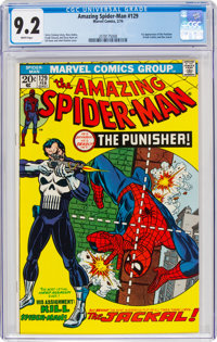 The Amazing Spider-Man #129 (Marvel, 1974) CGC NM- 9.2 White pages