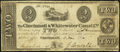 Cincinnati & Whitewater Canal Co. $2 Nov. 3, 1840 Fine-Very Fine