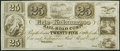 Obsoletes By State:Michigan, Toledo, MI- Erie and Kalamazoo Rail Road Company 25¢ 18__ Remainder Choice Crisp Uncirculated.. ...