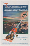 "Movie Posters:Adventure, High Flight (Columbia, 1957). Folded, Fine+. One Sheet (27"" X 41""). Adventure.. ..."