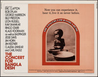 "The Concert for Bangladesh (20th Century Fox, 1972). Rolled, Very Fine. Half Sheet (22"" X 28""). Rock and Roll..."