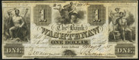 Ann Arbor, MI- Bank of Washtenaw $1 May 9, 1835 About Uncirculated