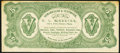 Obsoletes By State:Pennsylvania, Philadelphia, PA- E.A. McKeever $5 Advertising Note ND (ca. 1870s) Vlack 3870 Extremely Fine-About Uncirculated.. ...