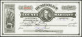 Obsoletes By State:Nevada, Winnemucca, NV- Humboldt County Warrant $10 Nov. 6, 1930 Choice About Uncirculated.. ...