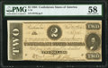 T70 $2 1864 PF-5 Cr. 567 PMG Choice About Unc 58