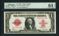 Fr. 40 $1 1923 Legal Tender PMG Choice Uncirculated 64 EPQ