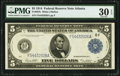 Fr. 867b $5 1914 Federal Reserve Note PMG Very Fine 30 EPQ