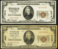Chicago, IL - $20 1929 Ty. 1 The National Bank of the Republic Ch. # 4605 Very Good-Fine; $20 1929 Ty. 1 American ... (T...