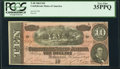 Confederate Notes:1864 Issues, T68 $10 1864 PF-31 Cr. 549 PCGS Very Fine 35PPQ.. ...