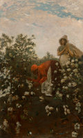 Paintings, Winslow Homer (American, 1836-1910). Upland Cotton, 1879-1895. Oil on canvas. 49-3/4 x 30 inches (126.4 x 76.2 cm). Sign...