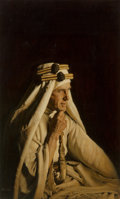Paintings, James Elliott Bama (American, b. 1926). Lawrence of Arabia. Oil on board. 21 x 12-3/4 inches (53.3 x 32.4 cm). Signed lo...