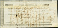 Obsoletes By State:Texas, Columbia, TX- Republic of Texas $105 Dec. 1, 1836 Unlisted Very Fine.. ...