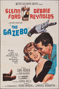 """The Gazebo & Other Lot (MGM, 1960). Folded, Overall: Fine. One Sheets (3) (27"""" X 41""""). Comedy. ... (Total:..."""