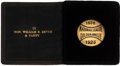 Baseball Collectibles:Others, 1925 National League Golden Jubilee Season Pass Issued To ...