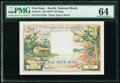 South Vietnam National Bank of Viet Nam 20 Dong ND (1956) Pick 4a PMG Choice Uncirculated 64