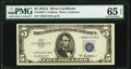 Small Size:Silver Certificates, Fr. 1656* $5 1953A Silver Certificate. PMG Gem Uncirculated 65 EPQ.. ...