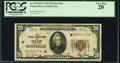 Small Size:Federal Reserve Bank Notes, Low Serial Number Fr. 1870-B* $20 1929 Federal Reserve Bank Note. PCGS Very Fine 20.. ...