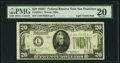 Fr. 2053-L $20 1928C Light Green Seal Federal Reserve Note. PMG Very Fine 20