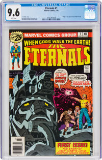 The Eternals #1 (Marvel, 1976) CGC NM+ 9.6 White pages