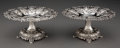 Silver & Vertu, A Pair of Tiffany & Co. Silver Compotes, New York,...