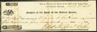 Louisville, KY- Office of Discount and Deposit of the Bank of the United States $1,500 Jan. 3, 1828 Extremely Fine