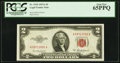 Fr. 1510 $2 1953A Legal Tender Note. PCGS Gem New 65PPQ