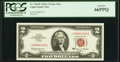 Fr. 1514* $2 1963A Legal Tender Note. PCGS Gem New 66PPQ