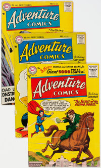Adventure Comics Group of 8 (DC, 1956-57).... (Total: 8 Comic Books)