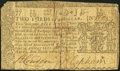 Colonial Notes:Maryland, Maryland March 1, 1770 $2/3 Very Good-Fine.. ...