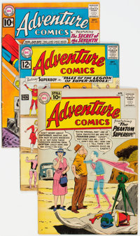 Adventure Comics Group of 8 (DC, 1961-62) Condition: Average VG-.... (Total: 8 Comic Books)