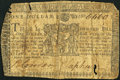 Maryland March 1, 1770 $1 Very Good-Fine