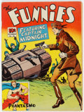 Golden Age (1938-1955):Superhero, The Funnies #61 (Dell, 1941) Condition: VG+....