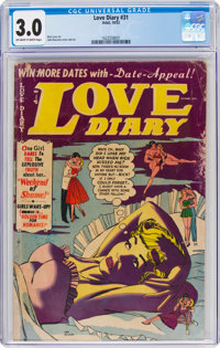 Love Diary #31 (Orbit, 1952) CGC GD/VG 3.0 Off-white to white pages