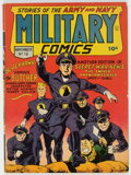Golden Age (1938-1955):War, Military Comics #13 (Quality, 1942) Condition: VG....