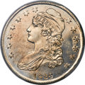 Bust Half Dollars, 1836 50C Lettered Edge, 50/00, O-116a, R.6, MS62 Prooflike PCGS....