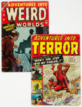 Golden Age (1938-1955):Horror, Adventures Into Terror #44 (#2)/Adventures into Weird Worlds #30 Group (Atlas, 1951-54).... (Total: 2 Comic Books)
