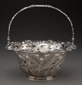 Silver & Vertu, A Tiffany & Co. Silver Reticulated Basket with Berry Motif...