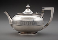 A John C. Moore & Son Silver Teapot Made with Silver from the Comstock Lode for Tiffany & Co., New York City, ci...