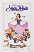 "Movie Posters:Animation, Snow White and the Seven Dwarfs (Buena Vista, R-1987). Folded, Very Fine-. 50th Anniversary One Sheet (27"" X 41""). Animation..."